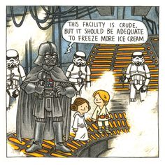 Check out the cover for two pages from Darth Vader and Friends by New York Times best-selling author Jeffrey Brown! Bd Star Wars, Star Wars Meme, Star Wars Comics, Star Wars Fan Art, Star Wars Rebels, Star Wars Cartoon, Pokemon, Star War 3, Love Stars