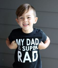 DIY: Father's Day Shirt with free printable template!  How cute is this?