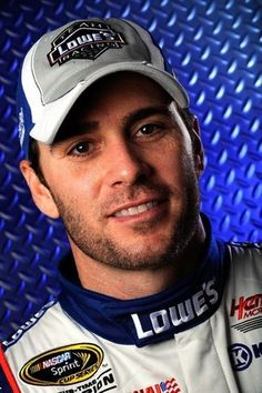 Jimmie Johnson is so handsome