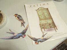 Распечатать на принтере картинки цветы и птицы для декупажа 5