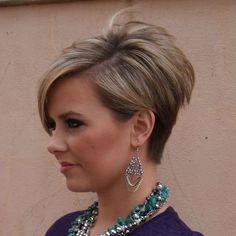 Mignon Short stack Coupe de cheveux - Facile, Balayage Pixie Coiffures pour les Femmes