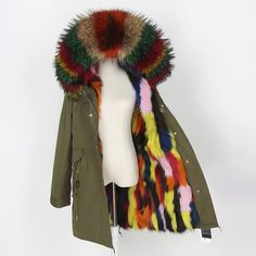 Parka Coat, Plaid Scarf, Fashion, Moda, Fashion Styles, Fashion Illustrations, Fashion Models