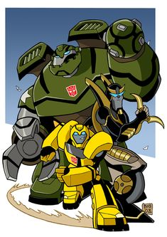Transformers animated by ~Boky44 on deviantART