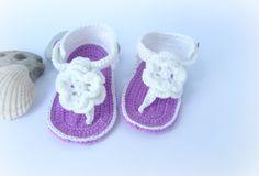 Baby sandals, Gladiator Sandals, Baby Booties de SvitlanaSky por DaWanda.com
