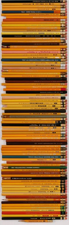 Fred's Pencil Collection