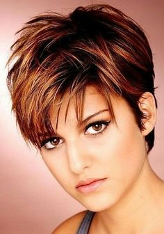 Trend kurzhaarfrisuren damen 2017 - My list of women's hairstyles Very Short Hair, Short Hair With Layers, Choppy Layers, Long Hair, Curly Hair, Short Hair For Round Face Double Chin, Short Hair Cuts For Women With Round Faces, Short Hair Over 50, Hair Styles For Women Over 50