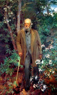 John Singer Sargent. Portrait of Frederick Law Olmsted, 1895.
