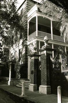 14 Legare Street - Edward Simmons House- Pineapple Gates House, Charleston, SC