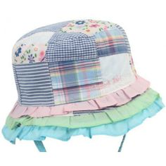bc96501a Baby Girls Sun Hat By Millymook & Dozer £11.99 Baby Sun Hat, Baby