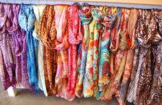 scarves | Fashion Friday: Colorful Scarves – The New Summer Accessory