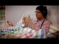 "iMaschine app. Via Native-Instruments.com. Jamie Lidell uses the app to perform an exclusive version of ""A Little Bit More"" from the album Multiply (2005, Warp) while relaxing in bed. One take, no edits."