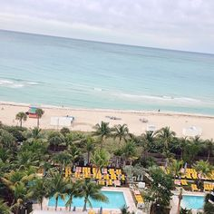 View from the Thompson Miami Beach. Photo courtesy of veetravels on Instagram.