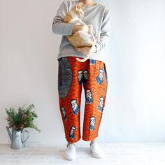 Caturday Parachute Pants, Harem Pants, Boutique, Fashion, Moda, Harem Trousers, Fashion Styles, Harlem Pants, Fashion Illustrations