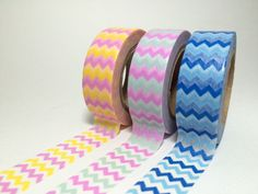 Beautiful Chevron Washi Tapes by DaisyGreyPretties on Etsy