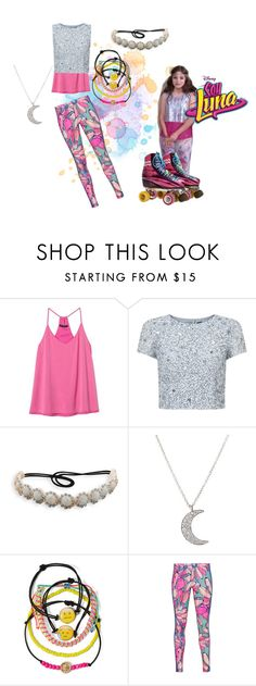 """""""soy luna"""" by maria-look on Polyvore featuring Banana Republic, Adrianna Papell, BillyTheTree, Finn, Carole and adidas Originals"""
