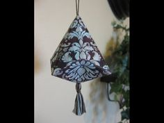 Make A German Bell Ornament - YouTube