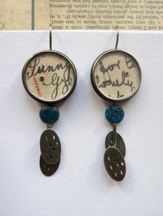 I'll take anything by this artist...Clare Hillerby jewellery