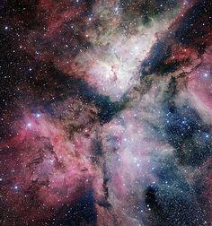 Combinação de imagens de nebulosa foi feita pelo ESO e divulgada nesta quinta (6) (Foto: ESO/Divulgação)