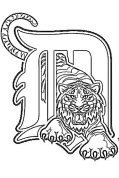Print Outs of Detroit Tigers at coloring-pages-book-for-kids-boys ...