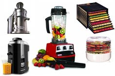 Must-have Appliances for the Vegan and Raw Food Kitchen