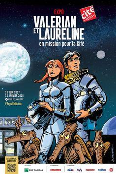 Valerian et Laureline en mission pour la Cité : Superbe Expo à la Cité des (...) - Unification France