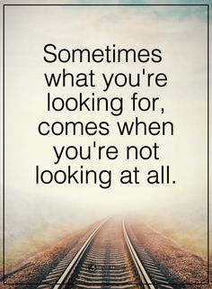 This is so #true! 90% of the things that happen we aren't looking for. #Avon was most certainly that way. Glad that is came into my #life!