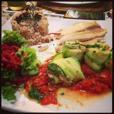 Comida natural e organica