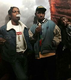 Imagen de tyler the creator and asap rocky