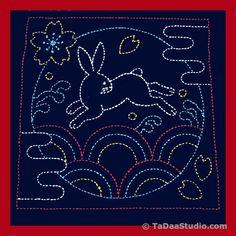 Japanese Sashiko Embroidery Sampler Kits | TaDaa Studio – TaDaa! Studio