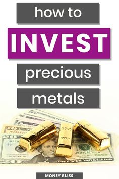 Investment portfolio diversification happens with learning how to invest in precious metals. The benfeifts of investing in precious metals is simple. Dow Jones Index, How To Be Rich, Making A Vision Board, Investment Portfolio, Become A Millionaire, Lost Money, Investing Money, Best Investments, Money Management