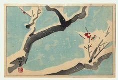 Ito Shinsui, Plum in Snow
