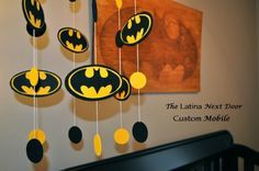 Bat Mobile Tutorial The Latina Next Door For Remarkable Batman Nursery Your Home Design Baby Batman, Batman Party, Batman Nursery, Batman Room, Batman Birthday, Lego Batman, Superhero Party, Birthday Diy, Birthday Party Decorations