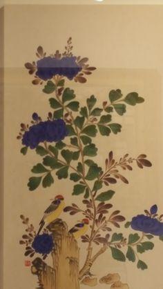 2018 민화 아트페어 다녀왔습니다 : 네이버 블로그 Chinese Style, Blog, Painting, Painting Art, Blogging, Paintings, Painted Canvas, Drawings