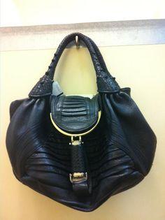 The Fendi spy bag