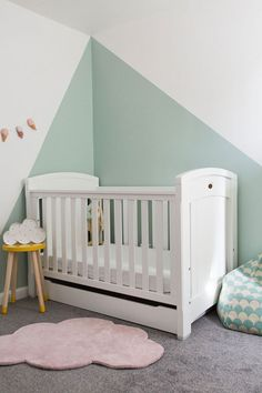 Amelia's Cool and Refined Nursery Room is part of Amelias Cool And Refined Nursery Room Kidsinteriors Com - Amelia's Cool and Refined Nursery Room a cute and simple girl nursery designed by a kids interior designer based in UK with Flexa furniture Baby Girl Nursery Room Ideas, Baby Boy Rooms, Baby Room Decor, Girl Room, Girls Bedroom, Kids Rooms, Bedroom Decor, Kids Bedroom Furniture, Furniture Nyc