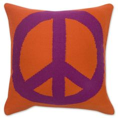 peace/love pillow  $110.00 16 x   Want !!!!