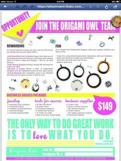 Become A Hostess and win great gifts and an extra income, while making a great friends and momentous memories. Origami Owl Recruiting https://connielee.origamiowl.com 318.540.4464 https://www.facebook.com/pages/Origami-Owl-Connie-Lee-Independent-Designer-11021853/628823470500619
