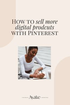 #pinterest How to grow digital product sales with the help of Pinterest: Pinterest marketing tips for online shops and online businesses by Ayalie Pinterest Marketing #ayalie #onlineshop #onlinebusiness Online Entrepreneur, Business Entrepreneur, Pinterest Pinterest, Sales Tips, Web Inspiration, Pinterest For Business, Ux Design, Pinterest Marketing, Creative Business