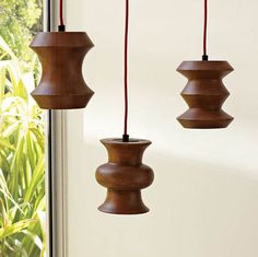 Lamps made out of wood | 1303