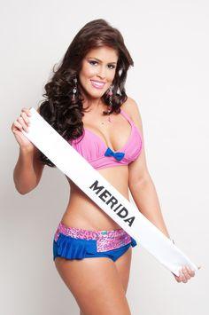 Miss Turismo Merida 2013, Ginger Garcés de 25 años y 1,80 mts @gingergraceg