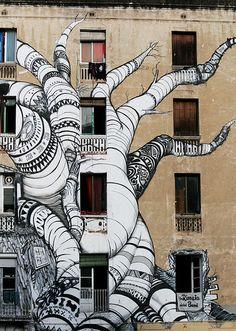 La Carboneria Art Street Barcelona, Catalonia