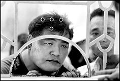 Chien-Chi Chang. Vietnam 2003 Ho Chi Minh City. Couples present proof of identity and marriage so that the women can get visas to Taiwan