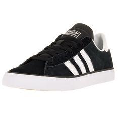 96b9b2c8a2b Adidas Men s Campus Vulc Ii Black White Gum3 Skate Shoe