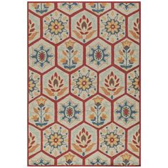 Momeni Rug Havana Hand Tufted Red Rug