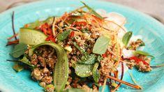 Asiatisk kjøttsalat