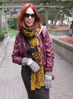 Hot Burgundy Leather!: Featuring @H&M + #Marshalls #FabFind. Read More!: http://www.thepurplescarf.ca/2013/11/fashion.toronto.hot-burgundy-leather.html #fashion #style