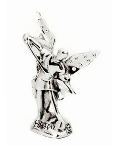 São Miguel Arcanjo com Cristal - #Swarovski #cristais #aluminio #decoracao #saomiguel #arcanjo