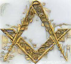 Freemason Symbol, Freemason Ring, Masonic Art, Masonic Temple, Mystic Symbols, Alchemy Symbols, Masonic Tattoos, Parts Of A Circle, Aleister Crowley