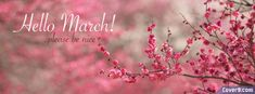 ∻ March Facebook Cover ∻