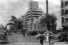 Blocul Casata, Jean Valeanu, Blvd General Magheru Destroyed in 1977 earthquake. Bucharest Romania, Timeline Photos, Old Photos, Georgia, Times Square, Street View, Travel, Dan, Buildings
